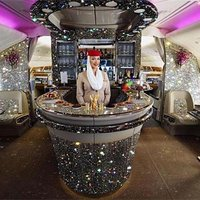 Emirates Airlines Shows Off Its 'Diamond' Onboard Lounge, But Is It Real?