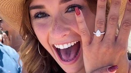 Two-Time Olympian Sam Mikulak Pops the Question to TV Host Mia Atkins
